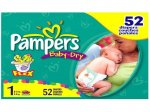 Pampers Jumbo Pack peste 16 kg